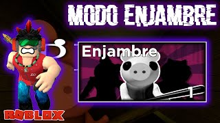 MODO ENJAMBRE EN PIGGY ES EL MÁS DIFÍCIL DE TODOS JUGANDO Roblox | Peluso Gamer