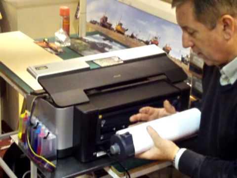 roll printing on desktop a3 printers with 13 gloss satin