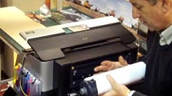 """Roll Printing on Desktop A3+ Printers with 13"""" Gloss / Satin / Canvas roll media"""