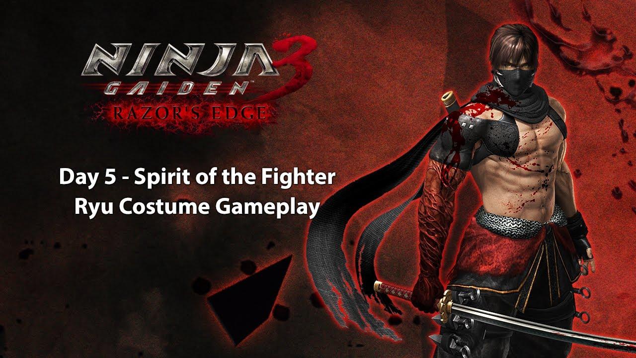 Download Ninja Gaiden 3 Razor's Edge PS3 - Day 5 Spirit of the Fighter Ryu