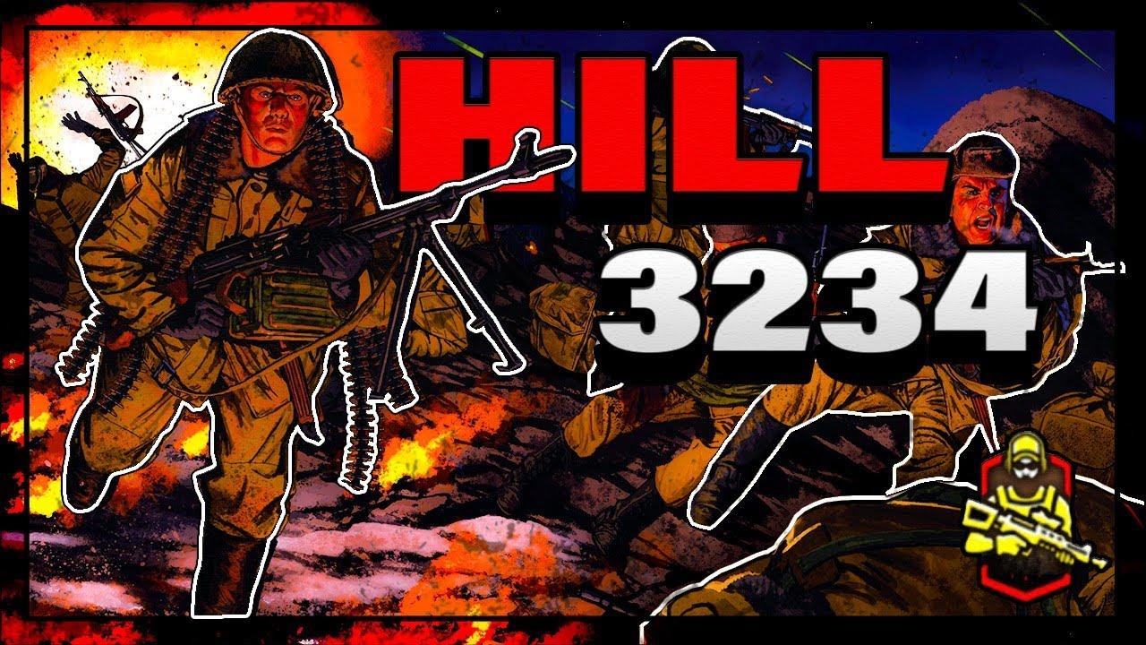 HILL 3234 - Neopisiva Borba Ruskih Vojnika Protiv Brojčano Jačeg  Neprijatelja !