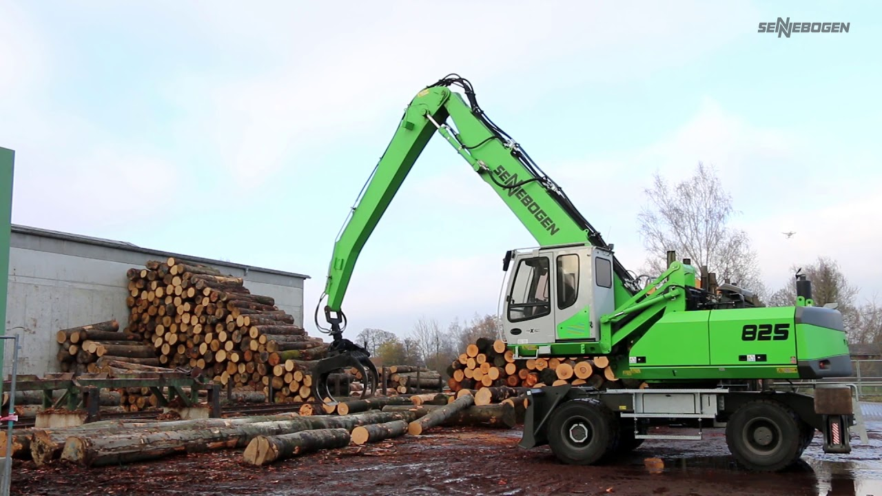 SENNEBOGEN - timber handling: 825 Mobile