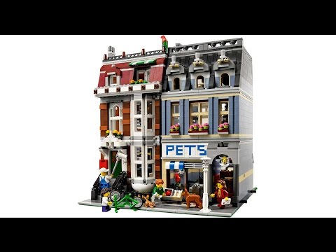 LEGO 10218 PETS SHOP -  SPEED BUILD