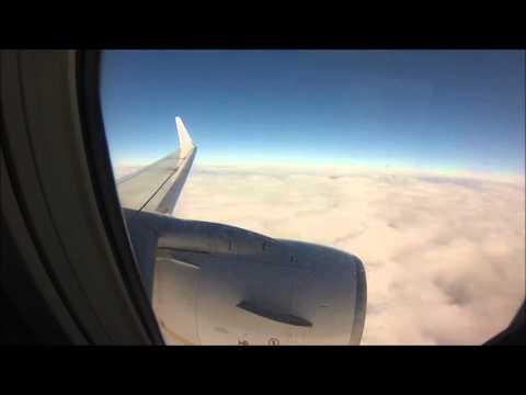 FR7961 Landing in Podgorica
