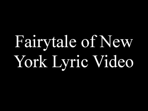 Fairytale of New York Lyrics