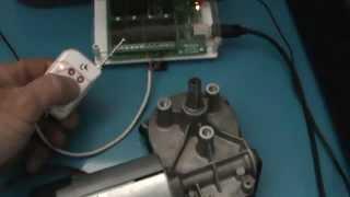 piloter un moteur 12v par PC à l'aide d'une carte relais USB et un boitier radio-commandé