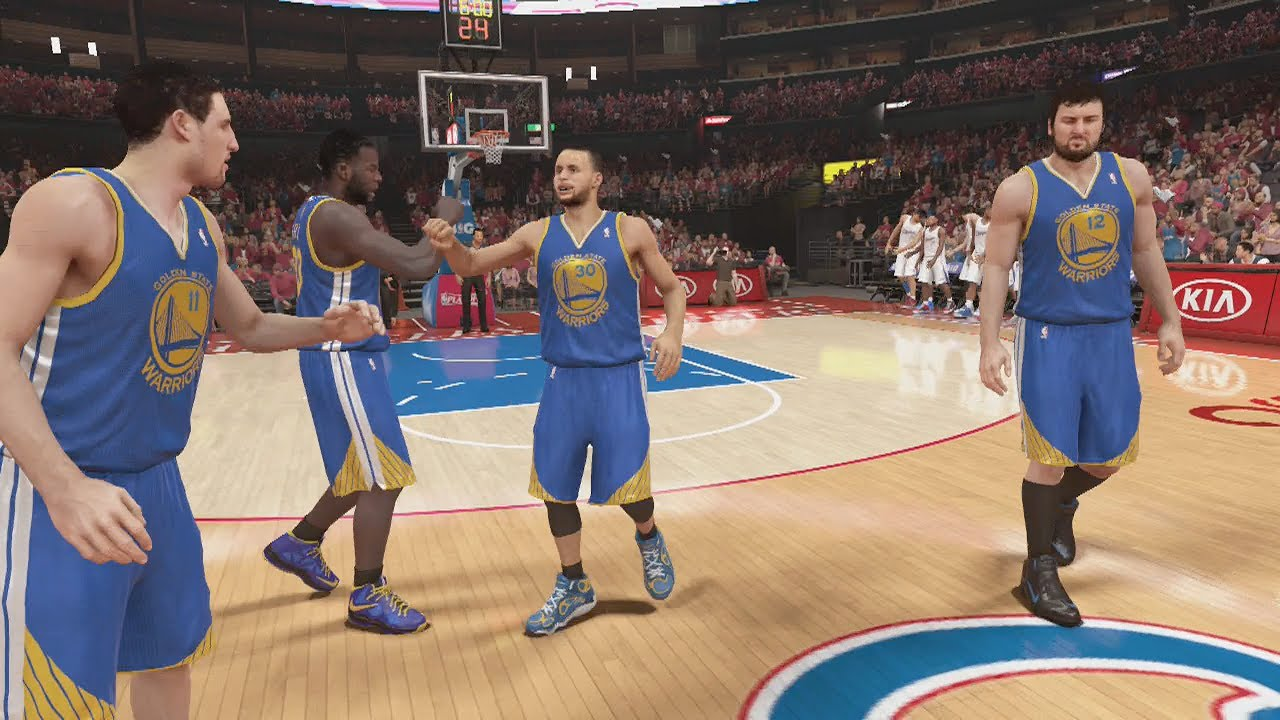 check out 044c3 07d04 NBA 2K14 (PS4): Golden State Warriors vs L.A. Clippers Round ...