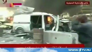 Взрывы на юге столицы Сирии! НОВОСТИ 33!