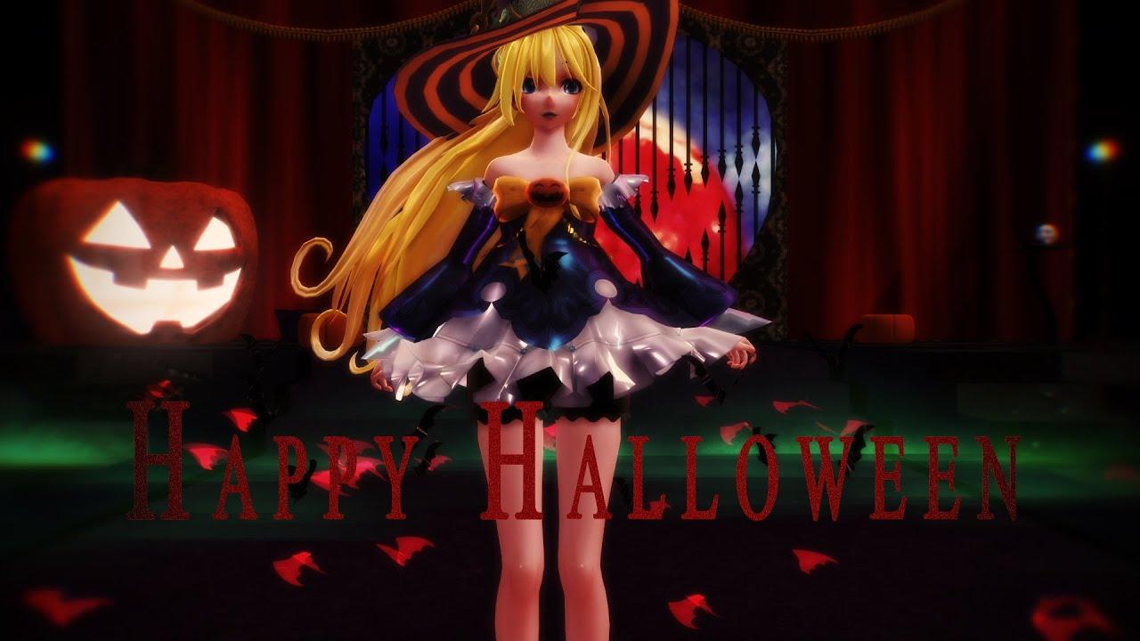mmd happy halloween witches sabbath 60 fps 1080p youtube