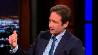 David Duchovny talks to Bill Maher about animal rights