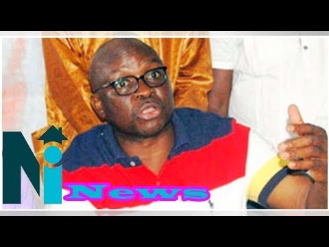 Nigerian govt withdrawing $1 billion excess crude money to fund buhari's reelection– fayose