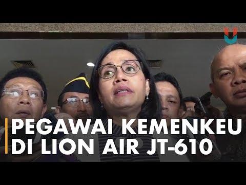 Sri Mulyani: Di Dalam Pesawat Lion Air JT610 Ada 20 Pegawai Kemenkeu