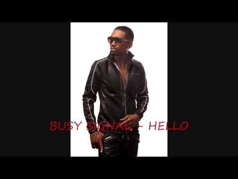 """Busy Signal """"Hello"""" [Turf Music Ent] - Official Audio"""