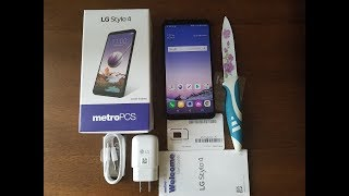 LG Stylo 4 Unboxing And First Look, BenchMark, For metroPCS