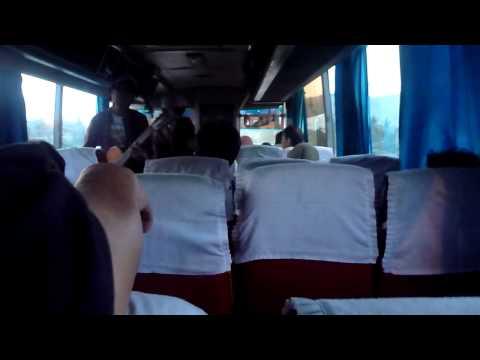 On the bus on Java