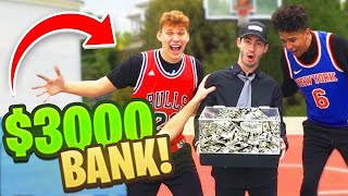 We Played BANK NBA Basketball Challenge With REAL MONEY ( $3,000 )