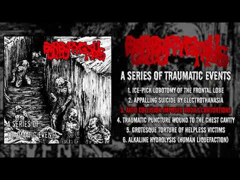 Borborygmus - A Series Of Traumatic Events FULL EP (2019 - Goregrind)