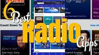 6 Best Radio Apps [Android/iOS] screenshot 1