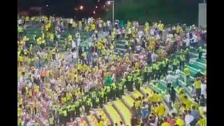 Hincha cae por accidente y muere en estadio del Bucaramanga - Noticias Caracol