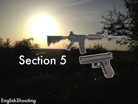 Section 5 - Owning a Pistol or Semi-Auto in the UK