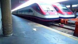 アキーラさん利用①高速列車アルファ・ペンドゥラール(AP)!ポルトガル・リスボン→ポルト!Alfa Pendular,Lisbon in Portgul to Porto