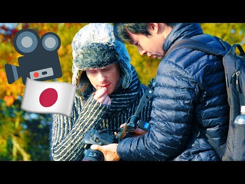 Making a MUSIC VIDEO in JAPAN!