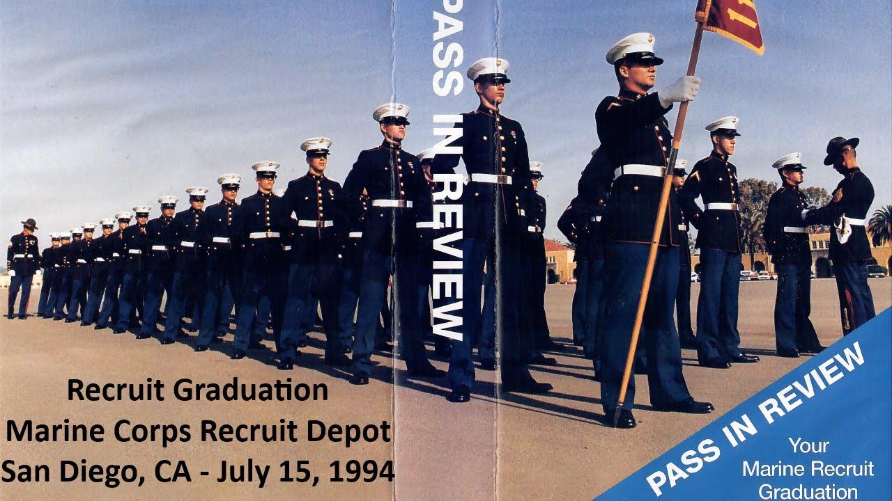 Mcrd San Diego Graduation July 15 1994 Youtube