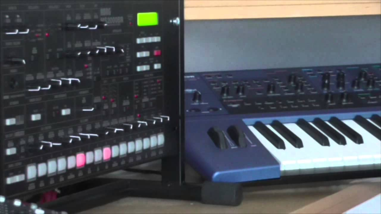 Korg MS2000BR: sound demo 2 - YouTube