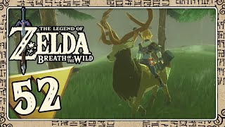 THE LEGEND OF ZELDA BREATH OF THE WILD Part 52: Reiten auf dem König des Waldes