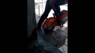 Алмазная резка бетона (кирпича)(, 2015-09-10T20:03:41.000Z)