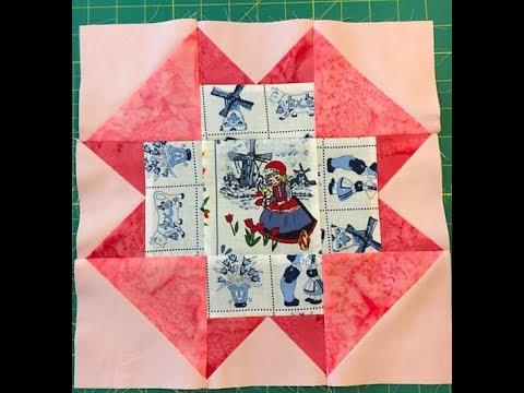 folded corners quilt block - YouTube : folded quilt blocks - Adamdwight.com