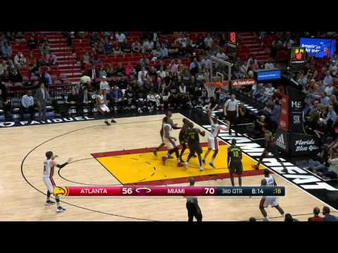 Atlanta Hawks vs Miami Heat | February 1, 2017 | NBA 2016-17 Season