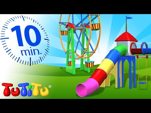 TuTiTu Specials | Playground Toys for Children | Carousel, Ferris Wheel and More!