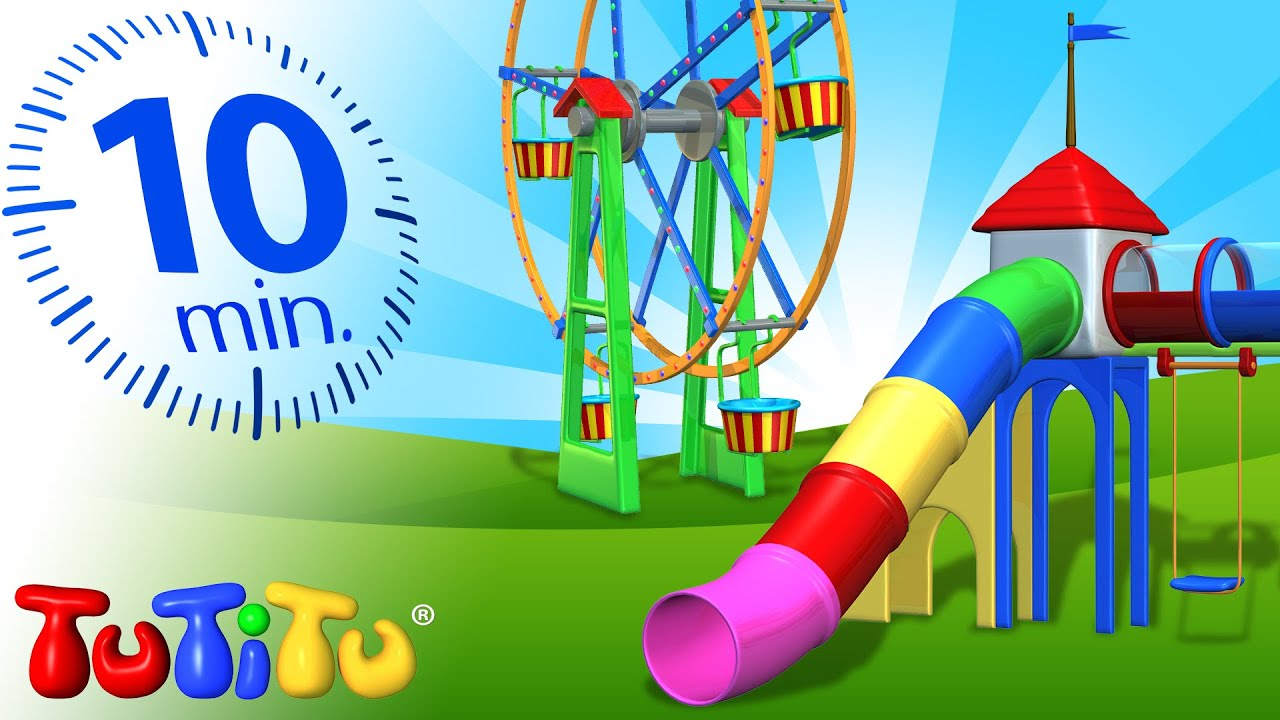 Playground Toys For Toddlers : Tutitu specials playground toys for children carousel