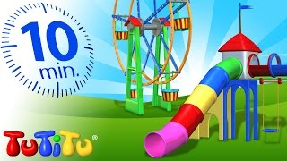 TuTiTu Compilation | Playground Toys for Children | Carousel, Ferris Wheel and More!