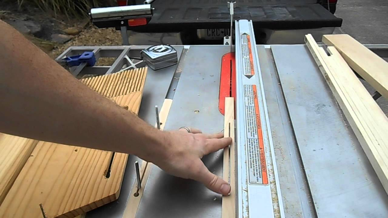 Home Made Featherboards For Table Saw Youtube