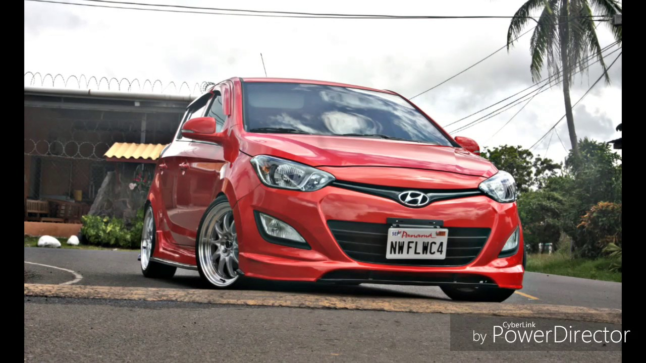 Reparacion De Hyundai I20 Body Kit