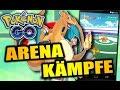 POKEMON GO - GUIDE : ARENA KÄMPFE - So gewinnst du ! Tutorial Gameplay German Deutsch Tipps Tricks