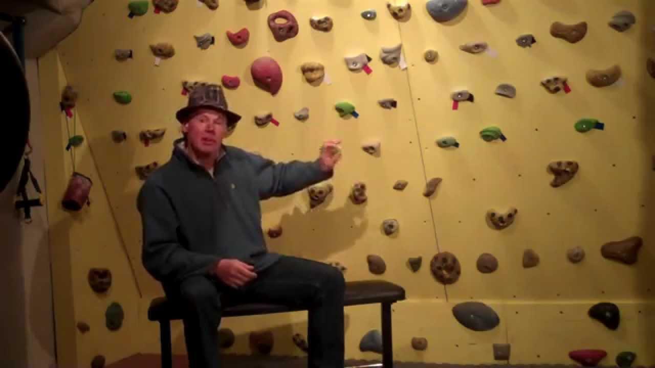 How to make a home Rock Climbing Circuit Board - YouTube