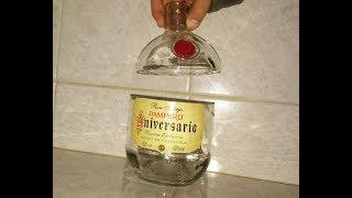Come Forare Una Bottiglia Di Vetro.Come Forare Una Damigiana Di Vetro Bottiglia In Vetro Trasparente