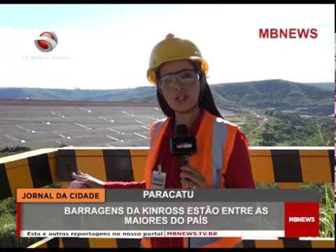 SITUAÇÃO DAS BARRAGENS KINROSS PARACATU 2019
