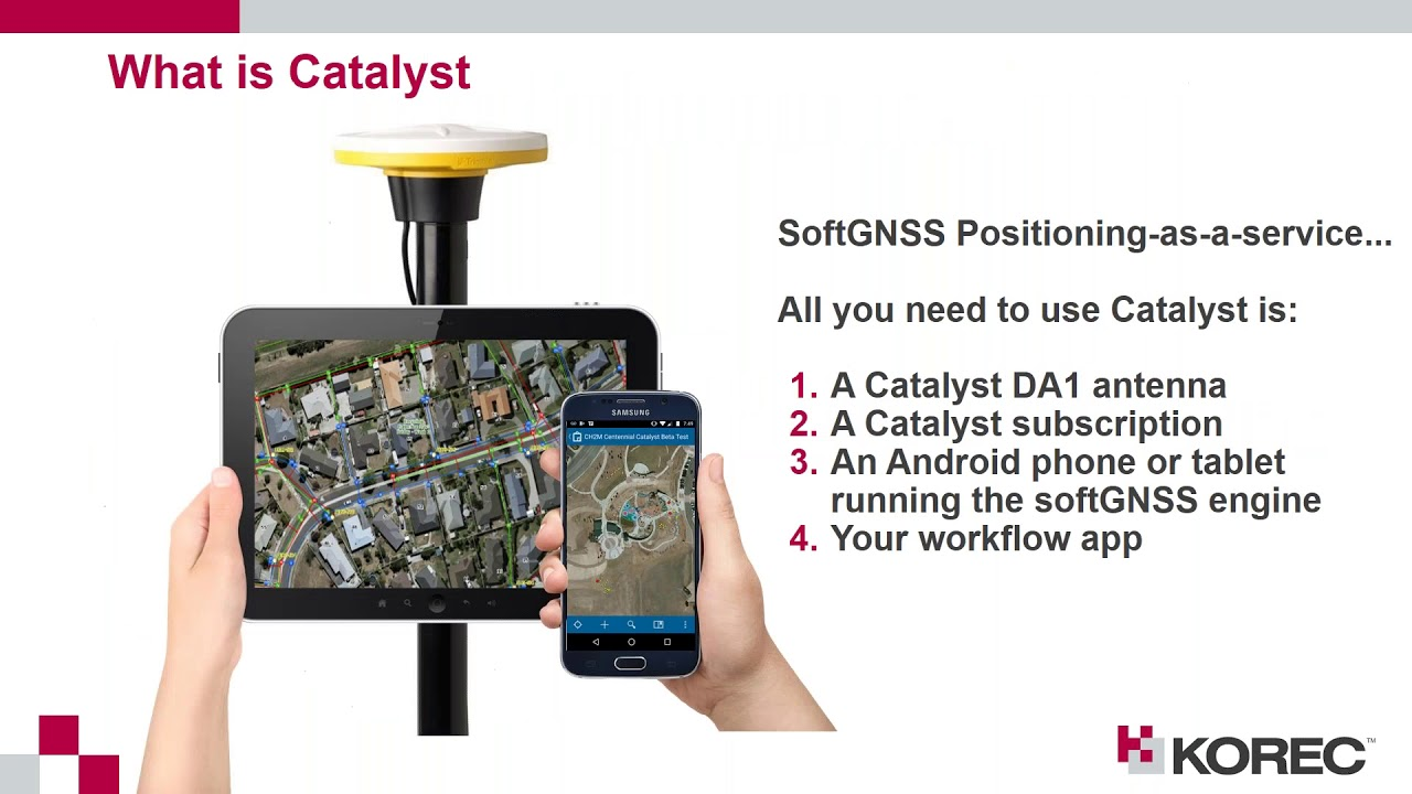 Trimble Catalyst overview and applications