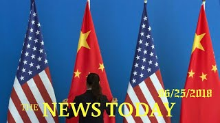 U.S. Plans Limits On Chinese Investment In U.S. Technology Firms | News Today | 06/25/2018 | Do...