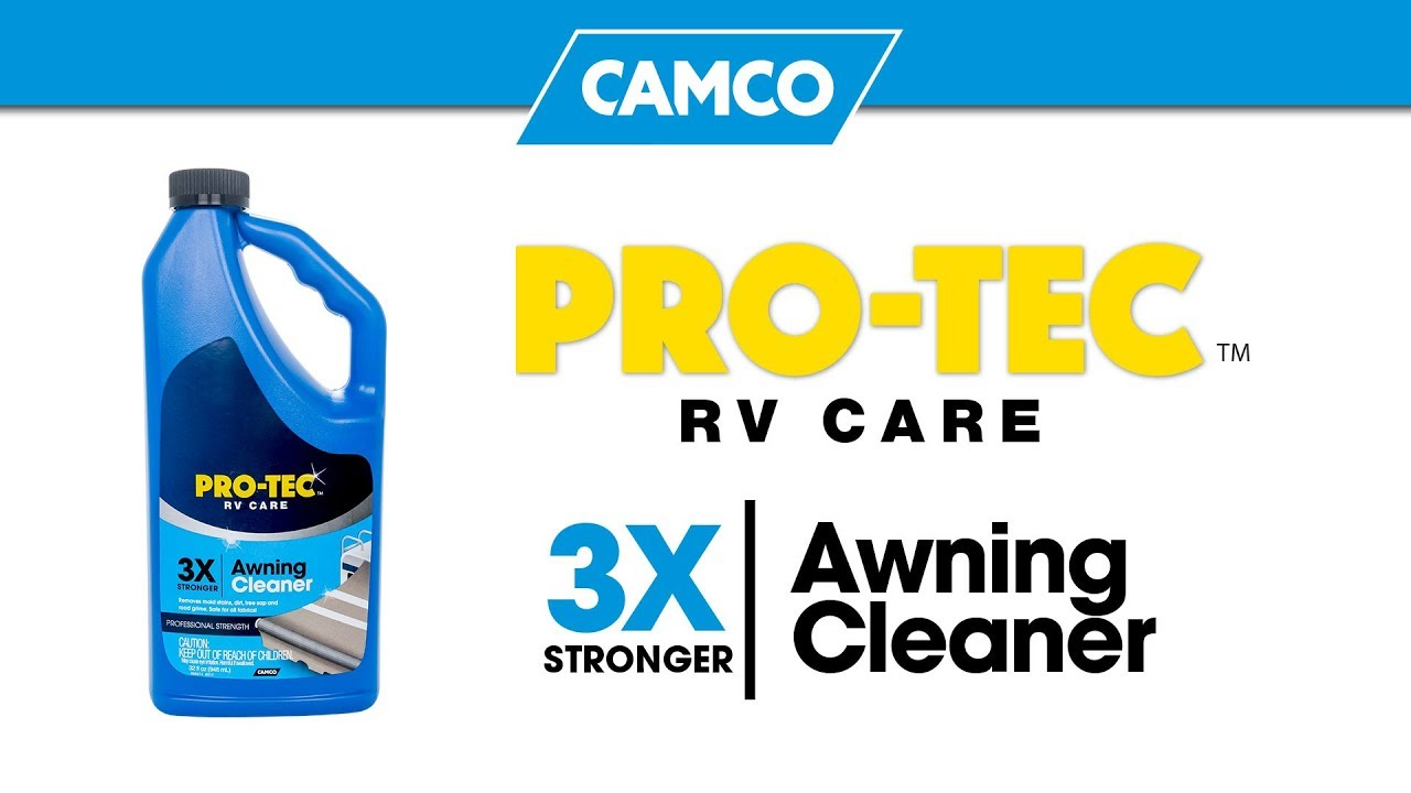 Pro Tec Cleaners Awning Cleaner Camping World Exclusive Youtube