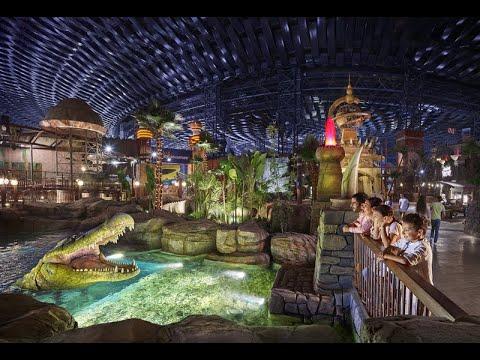 Img Worlds of Adventure Dubai / Парк аттракционов IMG Worlds of Adventure в Дубае