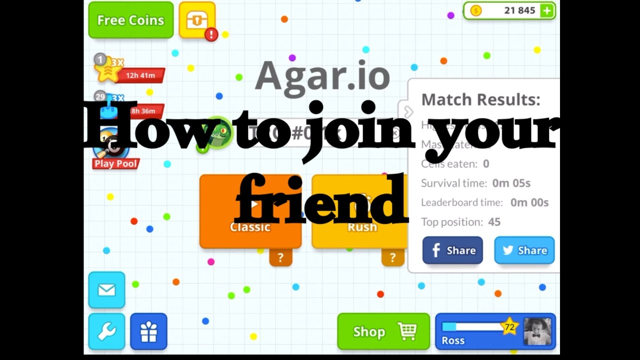 Download How to join your friend on Agar.io mobile (2 methods)