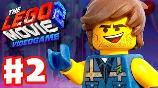 The LEGO Movie 2 Videogame - Gameplay Walkthrough Part 2 - Syspocalypstar and Asteroid Field!