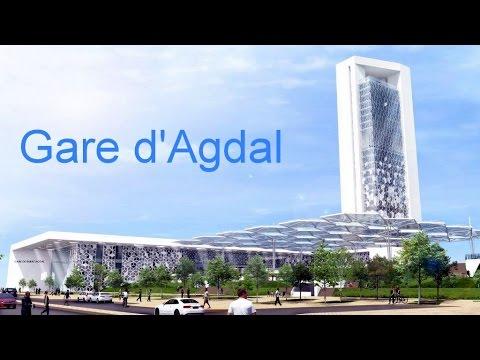 Nouvelles gares de Train a Rabat : Agdal et Rabat Medina.