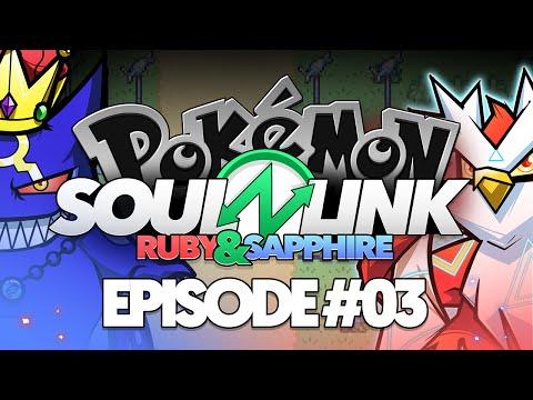 "Pokémon Ruby & Sapphire Soul Link Randomized Nuzlocke w/ @TheKingNappy!! - Ep3 ""ON THE EDGE!"""