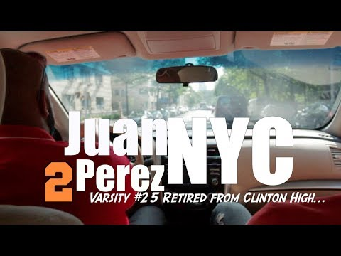 Juan Carlos Perez # Retired at deWitt Clinton High
